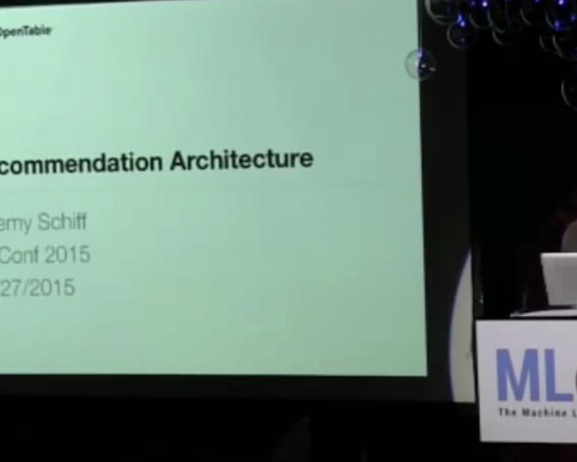 Recommendation architecture